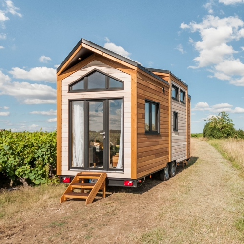 epona by baluchon cabane t house tiny house on. Black Bedroom Furniture Sets. Home Design Ideas