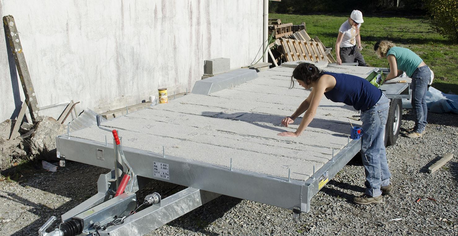 isolation et pose du plancher. Black Bedroom Furniture Sets. Home Design Ideas