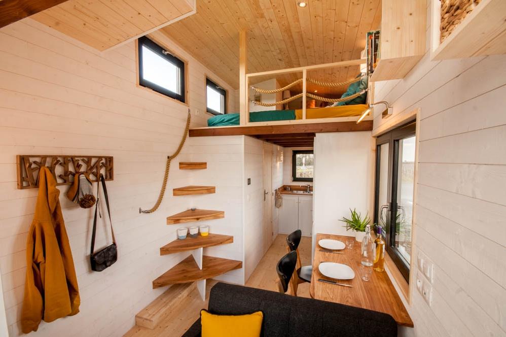 tiny house utopia. Black Bedroom Furniture Sets. Home Design Ideas